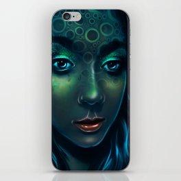 Aquamarina iPhone Skin