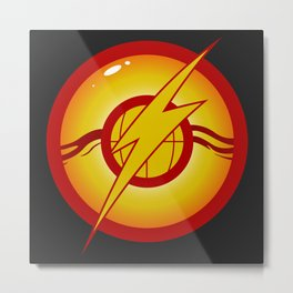Defenders of the Earth Emblem Metal Print