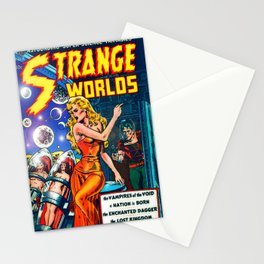 STRANGE TALES - GALAXY GUARDIANS - REDUX Stationery Cards