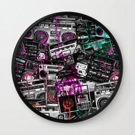 Ghetto Blaster 2 Royal Sain Wall Clock