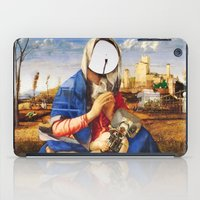 madonna iPad Cases featuring My Modern Madonna by Marko Köppe
