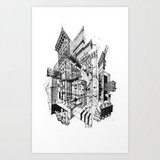 Architecture Fantasy Art Print