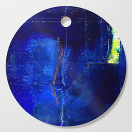 Into The Blue No.3a by Kathy Morton Stanion Cutting Board