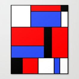 Mondrian #51 Canvas Print