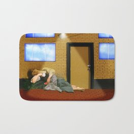 Bouguereau's Sleeping Beauty Bath Mat