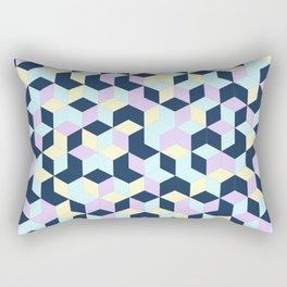 Jagged Colour Jumble Rectangular Pillow