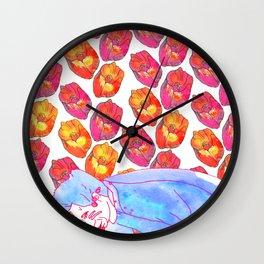 Diamond Pollen Wall Clock