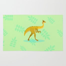 Gallimimus, From That Chase Scene Rug
