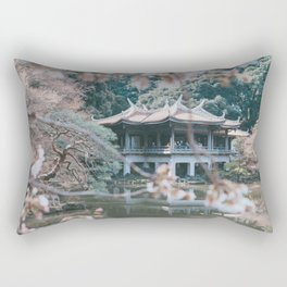 Sakura garden Hanami Rectangular Pillow