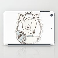 bambi iPad Cases featuring BAMBI by TOO MANY GRAPHIX