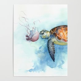Turtle Noms Poster