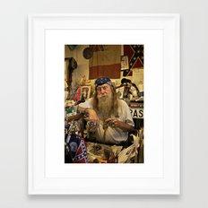 Wildman. Framed Art Print