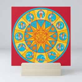 Hanuman Sun Salutations Mini Art Print