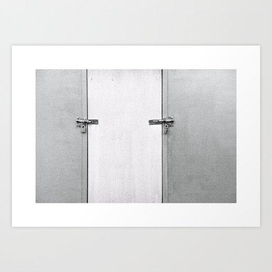 closed#04 Art Print