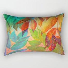 Autumn Lights and Colors Rectangular Pillow