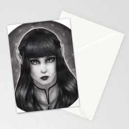Fae Portrait  Stationery Cards