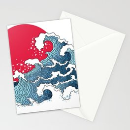 The Second Great Wave Stationery Cards