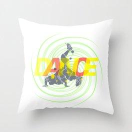 DANCE II Throw Pillow