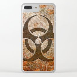 Contagion Clear iPhone Case