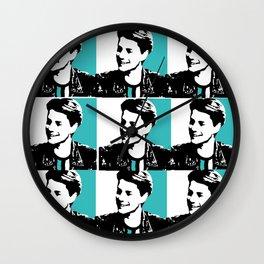 jace norman pop art Wall Clock