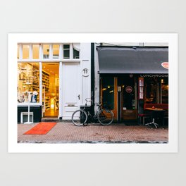 Centrum - Amsterdam, The Netherlands - #4 Art Print