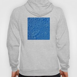 Champagne Bubbles Collection: #1 - Vibrant Blue Hoody