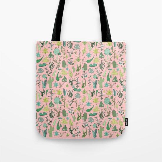 Nature Pink Tote Bag