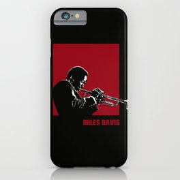 MILES / DAVIS [A Kind of Red][by felixx / 2016] iPhone Case