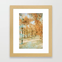Chilean Autumn Framed Art Print