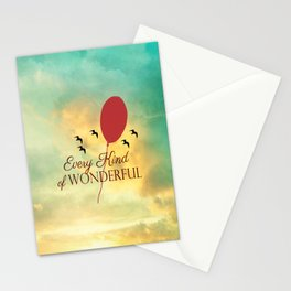 Every Kind of Wonderful Stationery Cards