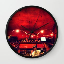 osteria  Wall Clock
