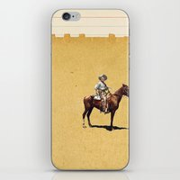 dark tower iPhone & iPod Skins featuring Dark Tower by Caitlin Donald