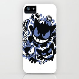 Ghastly Haunting Ghouls (2) iPhone Case
