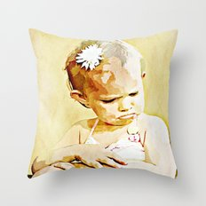 The Little McCoy - 018 Throw Pillow