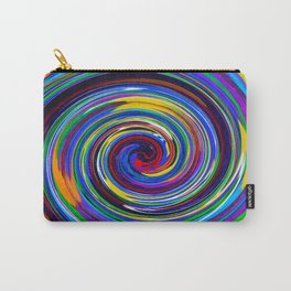 Paint Swirl Carry-All Pouch