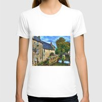 postcard T-shirts featuring French Postcard by Exquisite Photography by Lanis Rossi