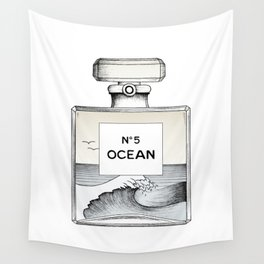 Ocean No5 Wall Tapestry