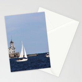 3 Sailboats Stationery Cards