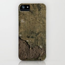 Mansion Plaster Wall iPhone Case