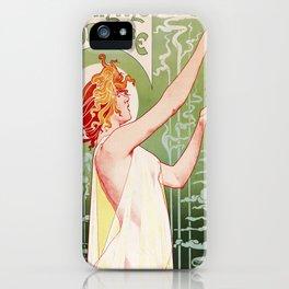 Art Nouveau Absinthe Robette Ad iPhone Case