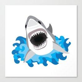 Shark Attack #2 Canvas Print