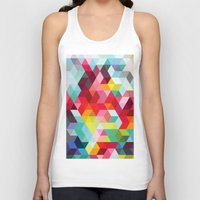 sublime Tank Tops featuring sublime geometries 01 by Sarah Joy Nikkel