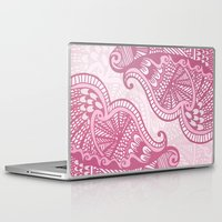 henna Laptop & iPad Skins featuring Henna Pattern by ItsJessica