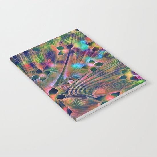 Floral Fractal Notebook
