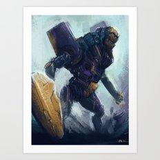 Bot 30 Art Print