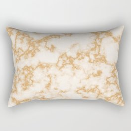 Classic Marble Pattern Background Rectangular Pillow