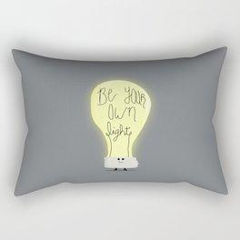 Be Your Own Light Rectangular Pillow