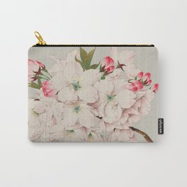 Vintage Japanese Watercolor - Mikuruma Gaeshi Carry-All Pouch
