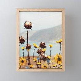 Yellow Dreamland Framed Mini Art Print
