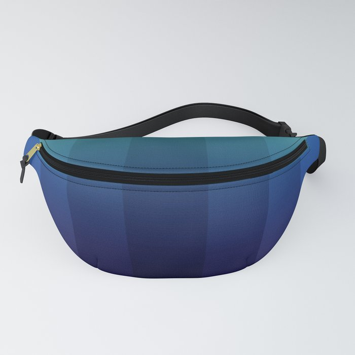 Steps 2-Blue Ombre Fanny Pack